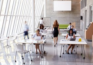 Workplace Office Design Ideas: How Open Office Plans Affect Workplace Productivityrh:business.com,Design