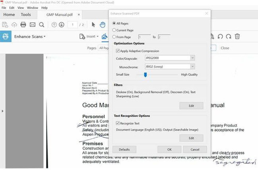 Adobe Acrobat image: You can optimize PDFs so they load onto your website more quickly.