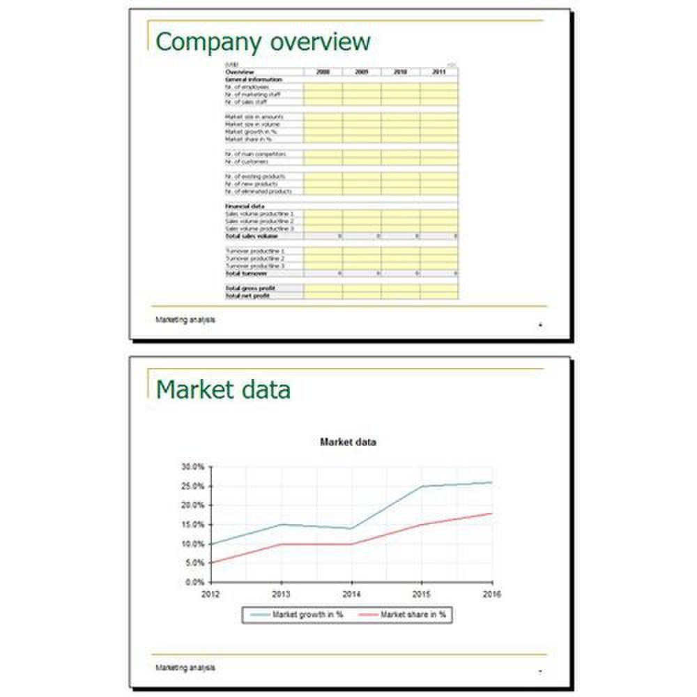 PlanMagic Business image: The graph and chart generators are included with this program.