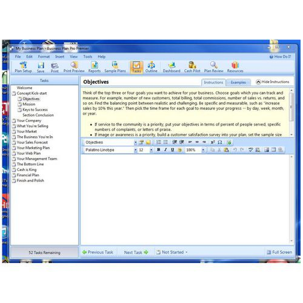 business plan pro software