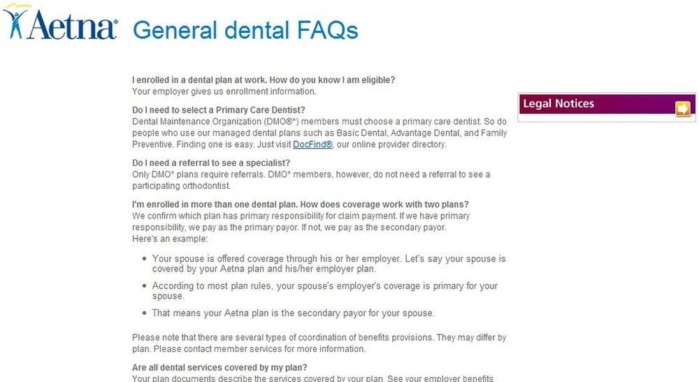 Aetna Dental Review - Pros, Cons and Verdict