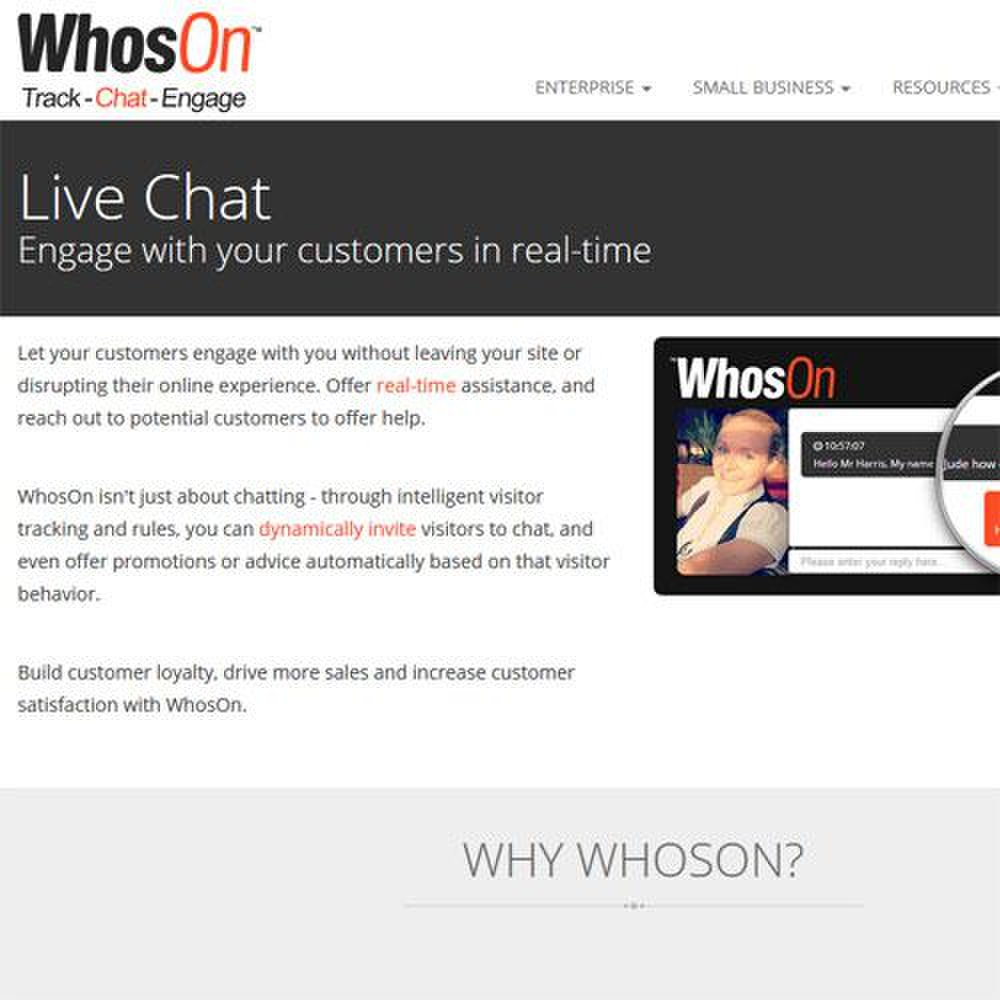 WhosOn image: Learn all about WhosOn on its interactive website.