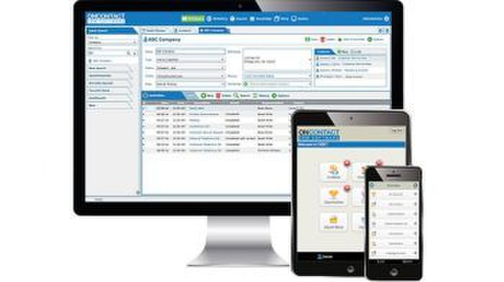 You can use this CRM software on desktop computers or mobile devices.