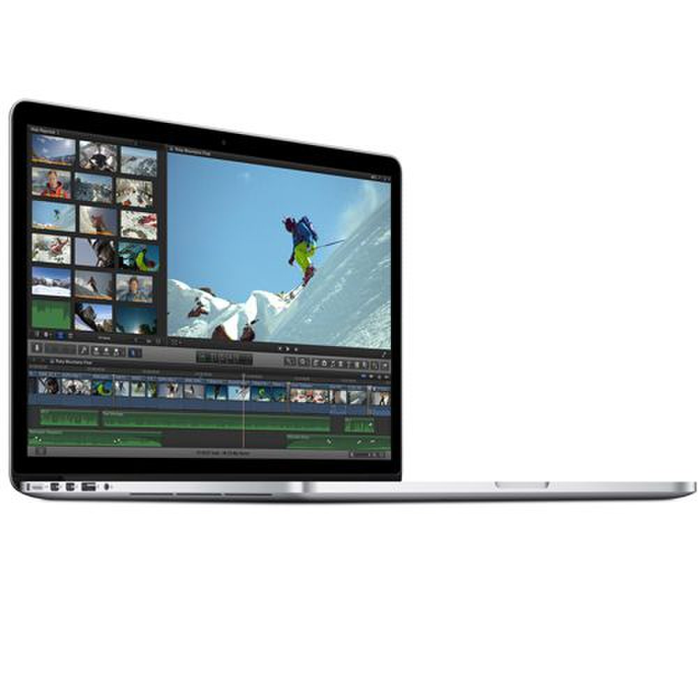 Apple MacBook Pro 15 image: Apple's Mac OS X El Capitan comes with a free full productivity suite, with Pages for word processing, Keynote for presentation and Numbers for spreadsheets, as well as iMovie for editing videos and GarageBand for audio.