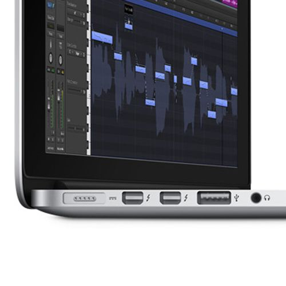 Apple MacBook Pro 15 image: The Thunderbolt 2 ports have a range of uses like connecting external displays, high-capacity storage and professional A/V equipment.