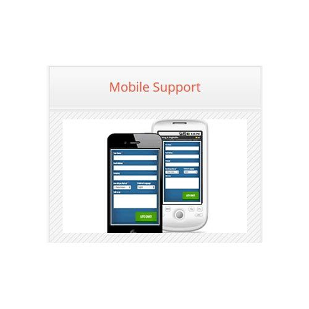 Velaro image: The application supports mobile computing for customers and agents.