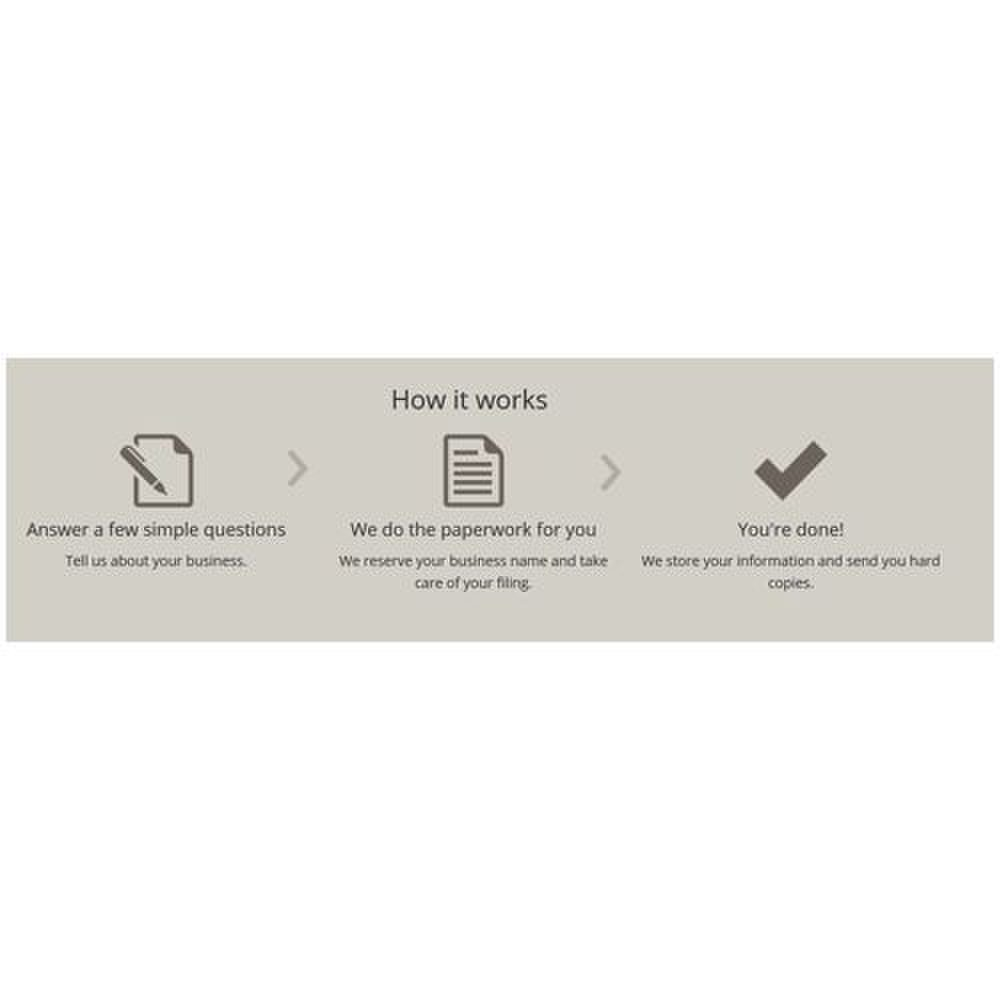 Rocket Lawyer image: The process of completing your legal forms is very simple.
