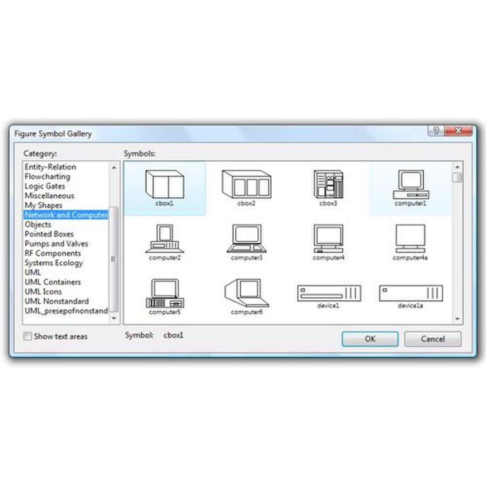 Edge Diagrammer Review 2018 Symbols Process Flow Diagram Entity Relationship Image The Symbol Gallery Lets You Preview Shapes For Different Categories