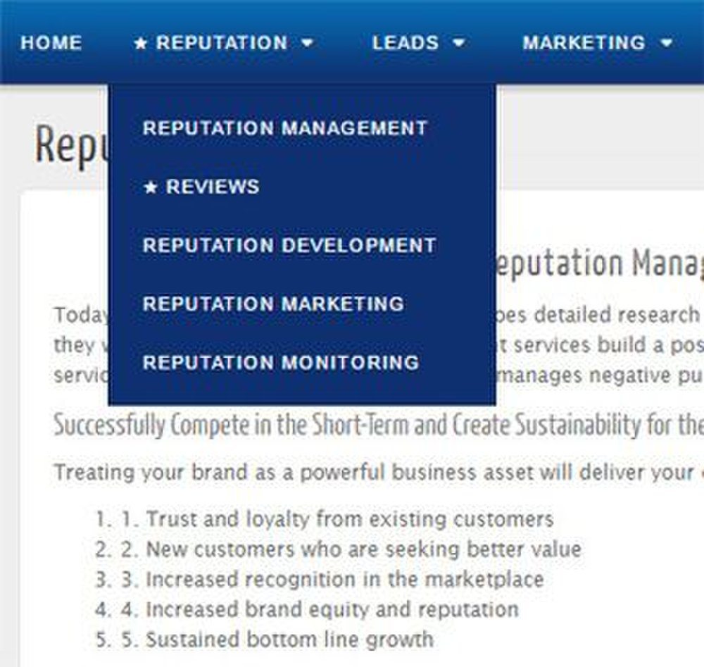 Gadook image: This company has several reputation management specialties.