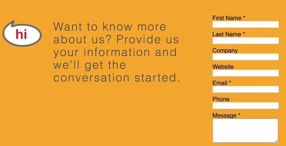 Ignite image: You can fill out the contact form to learn more about Ignite's social media marketing.