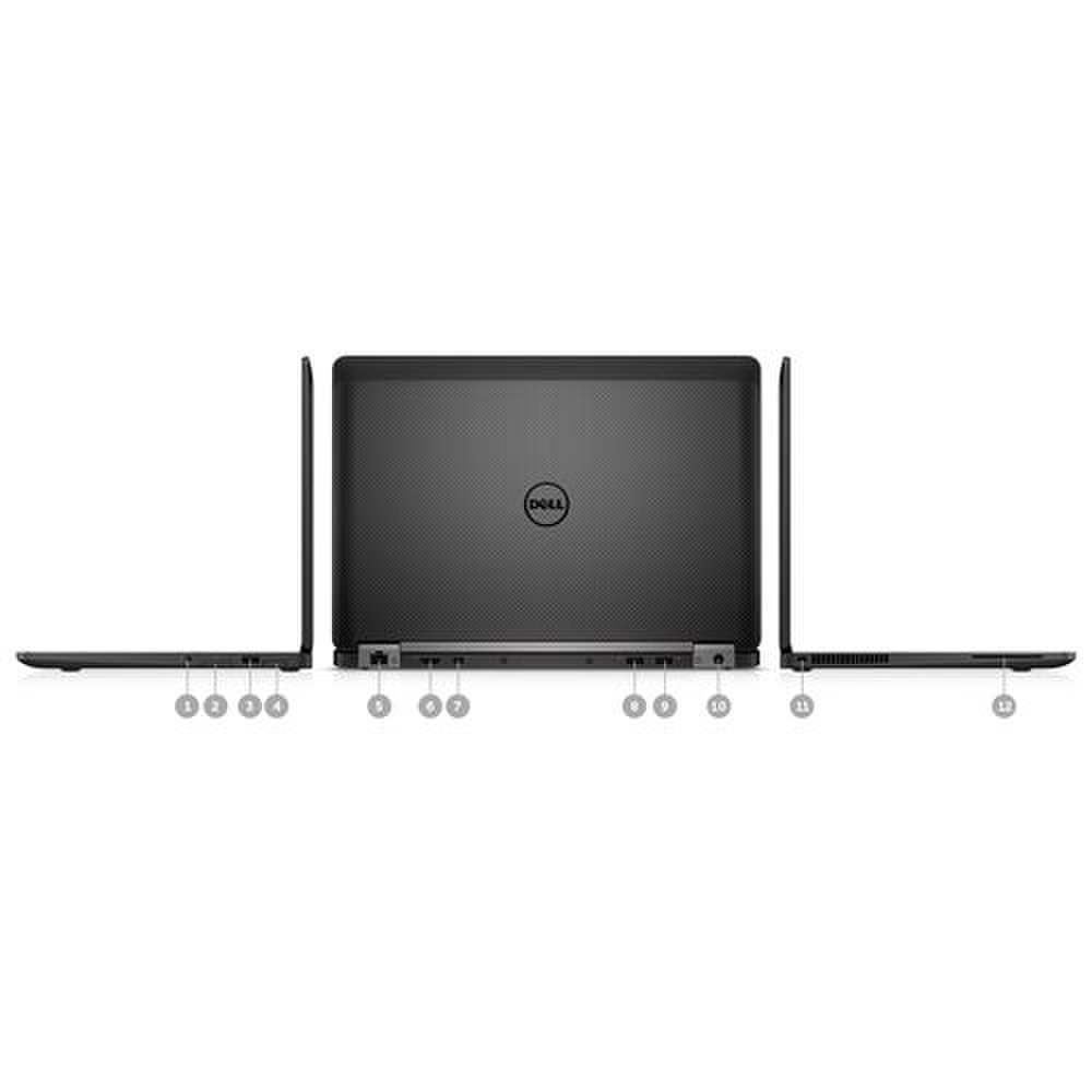 Dell Latitude 14 image: Along the sides and back of the laptop you'll find three USB 3.0 ports, HDMI and mini DisplayPort outputs, an SD card slot, and Ethernet port. A SIM card slot is also available for optional mobile broadband.