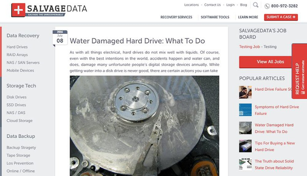 Salvagedata Recovery Review 2018 Raid Data Recovery