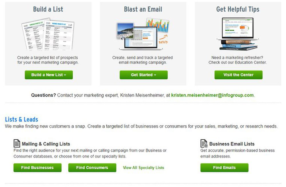 Infogroup Targeting Solutions Review 2018 | List Broker