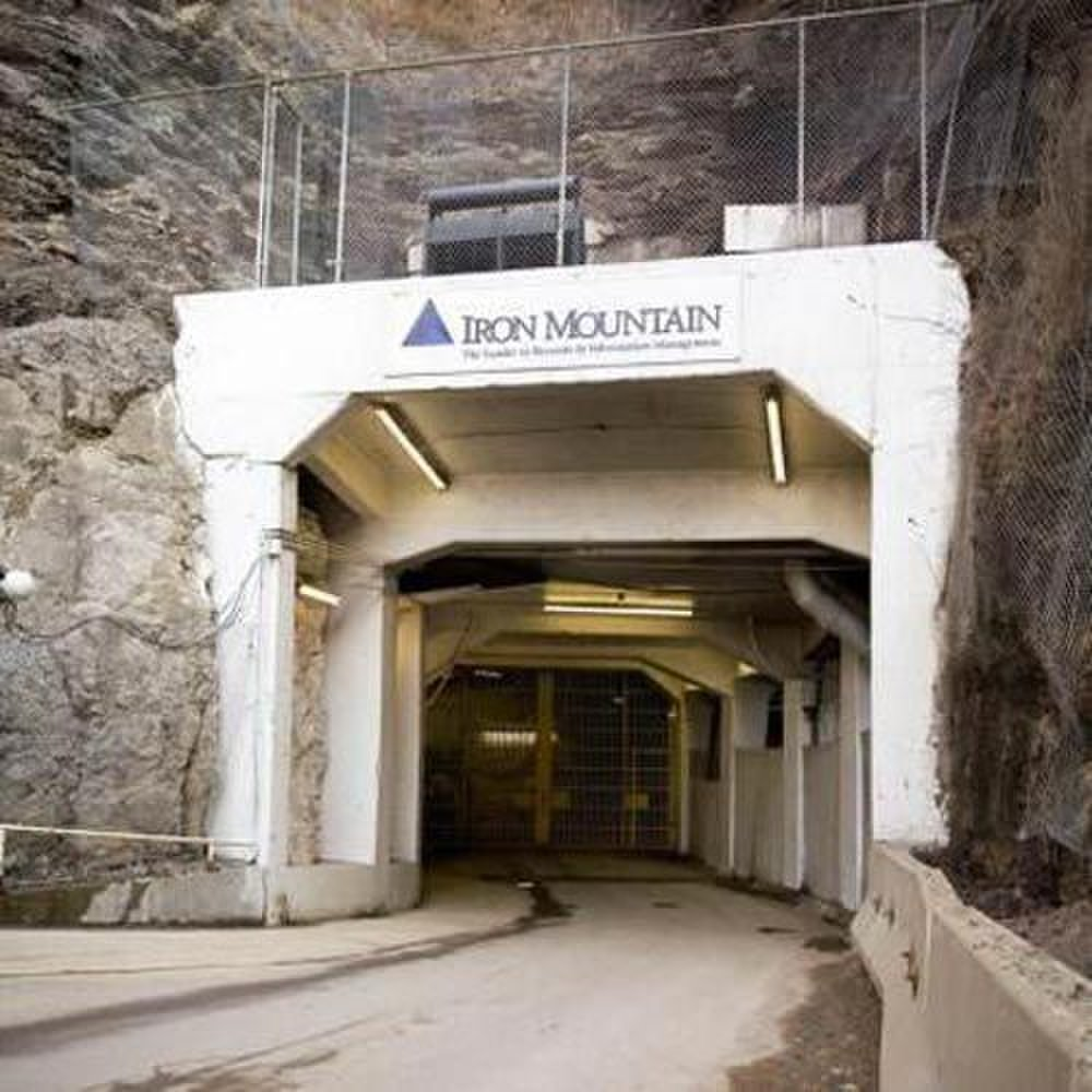 Iron Mountain image: The company has above- and below-ground facilities on five continents.