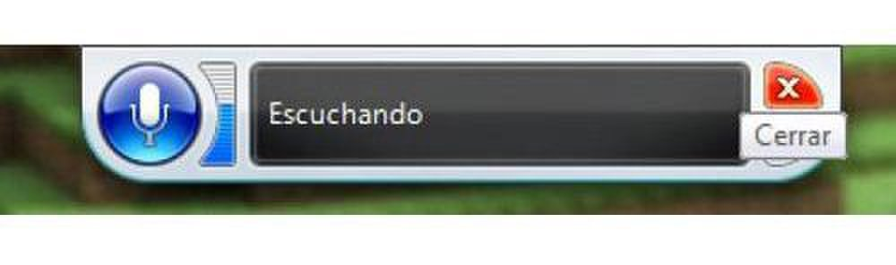 Voice Finger image: The software also offers a Spanish language option.