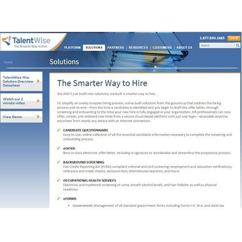 TalentWise Hire Review 2018 | Business com