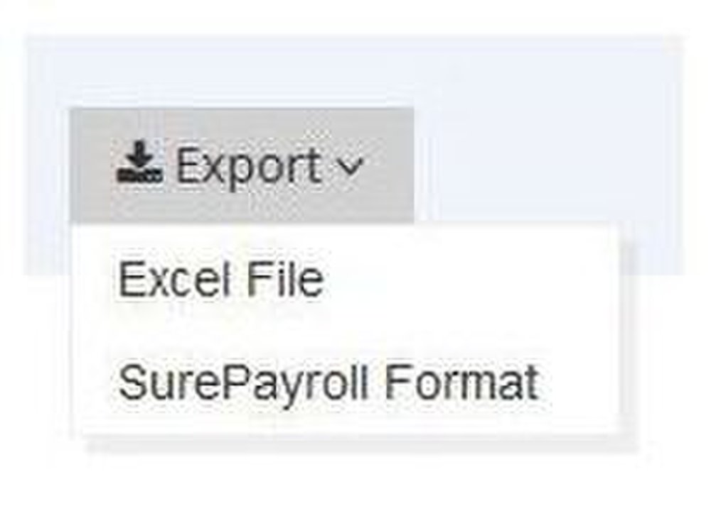 Buddy Punch is capable of creating and exporting both XLS and CSV files.