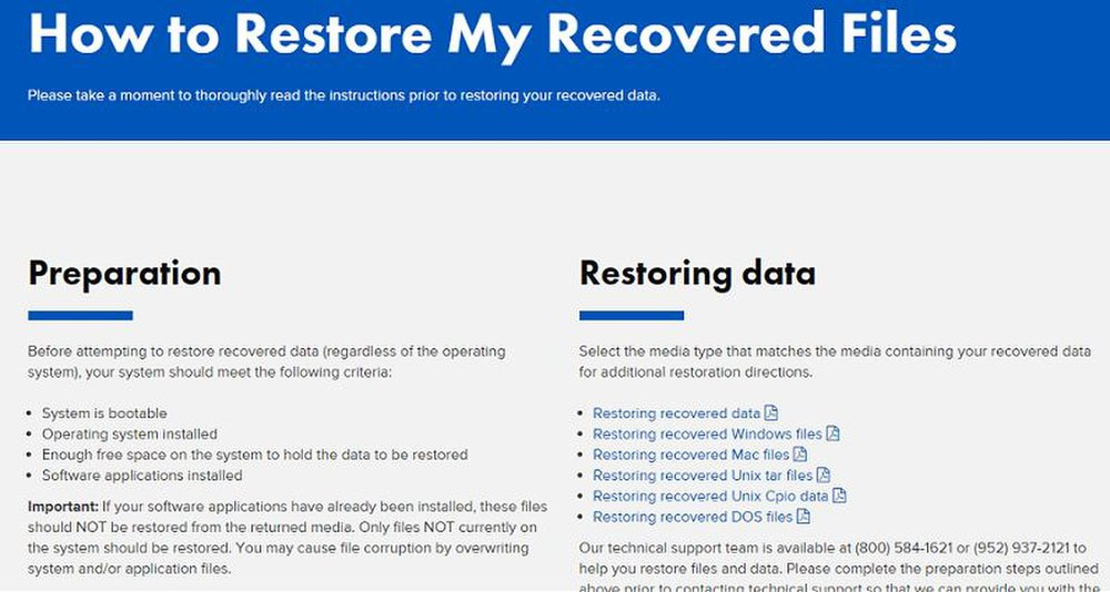Kroll Ontrack has an online knowledgebase with plenty of information on data recovery.