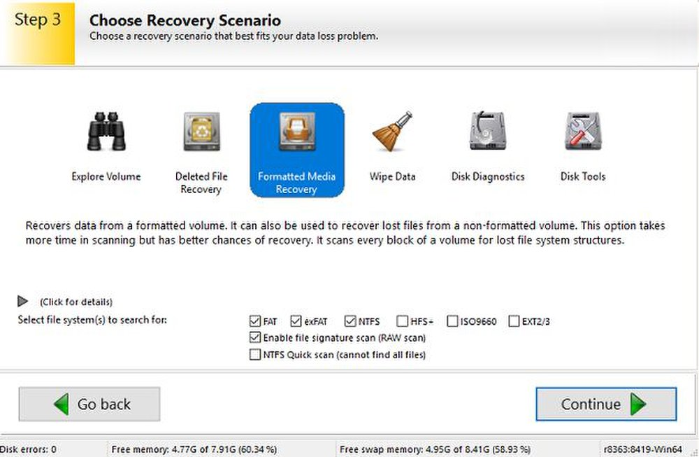 Ontrack Easy Recovery can perform disk diagnostics or completely wipe sensitive data from your hard drive.
