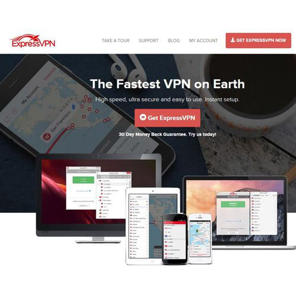ExpressVPN image: You can contact their company 24/7 or use their online customer support.