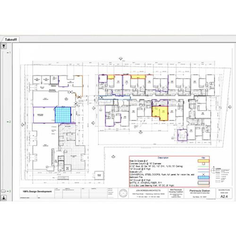 ProContractor Estimating image: This program allows you to import CAD designs.