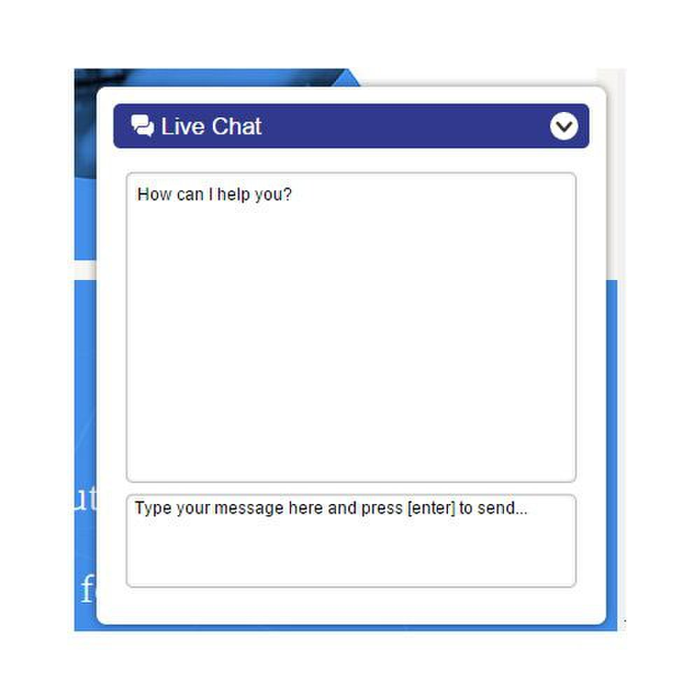 Mavenlink image: You can contact sales and support via live chat.
