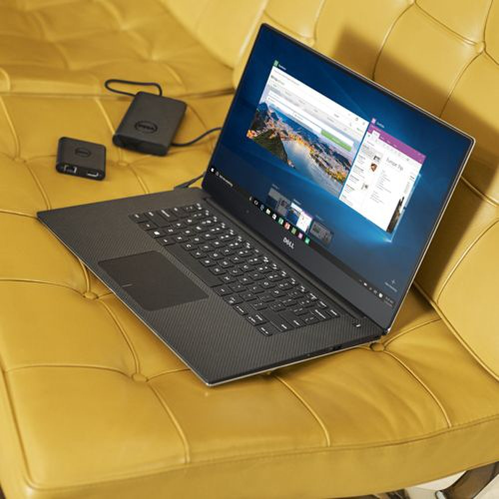 Dell XPS 15 images: Dell offers several accessories for the XPS 15, including an external battery pack and a USB-C adapter that adds HDMI, VGA, Ethernet and USB 3.0 ports.