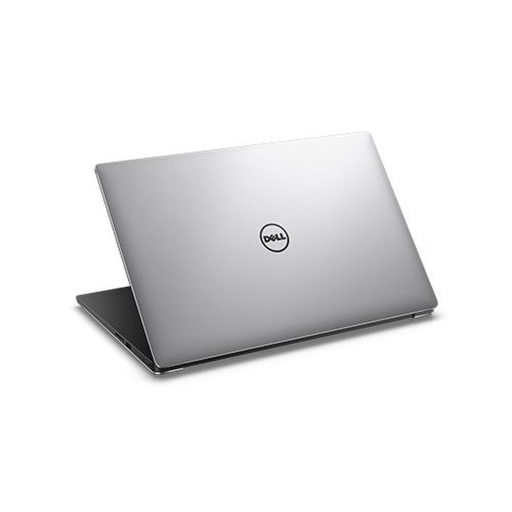 Dell XPS 15 images: Across the lid and underside of the chassis are machined aluminum panels that add strength and durability to the lightweight carbon fiber construction.