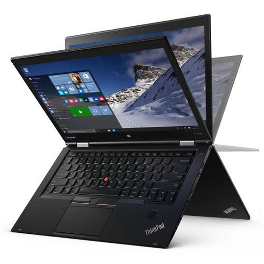 Lenovo ThinkPad X1 Yoga image: With a 360-degree hinge, the ThinkPad X1 Yoga brings the flexibility of Lenovo's Yoga laptops to the business laptop.