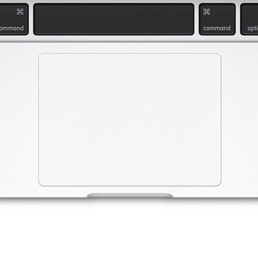 Apple MacBook Pro 13 image: The touchpad updates the traditional clickable surface with ForceTouch, which adds pressure sensitivity and haptic feedback for additional inputs and intuitive commands.