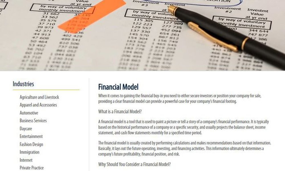 PlanIt Business image: Financial modeling is an important part of your business planning.