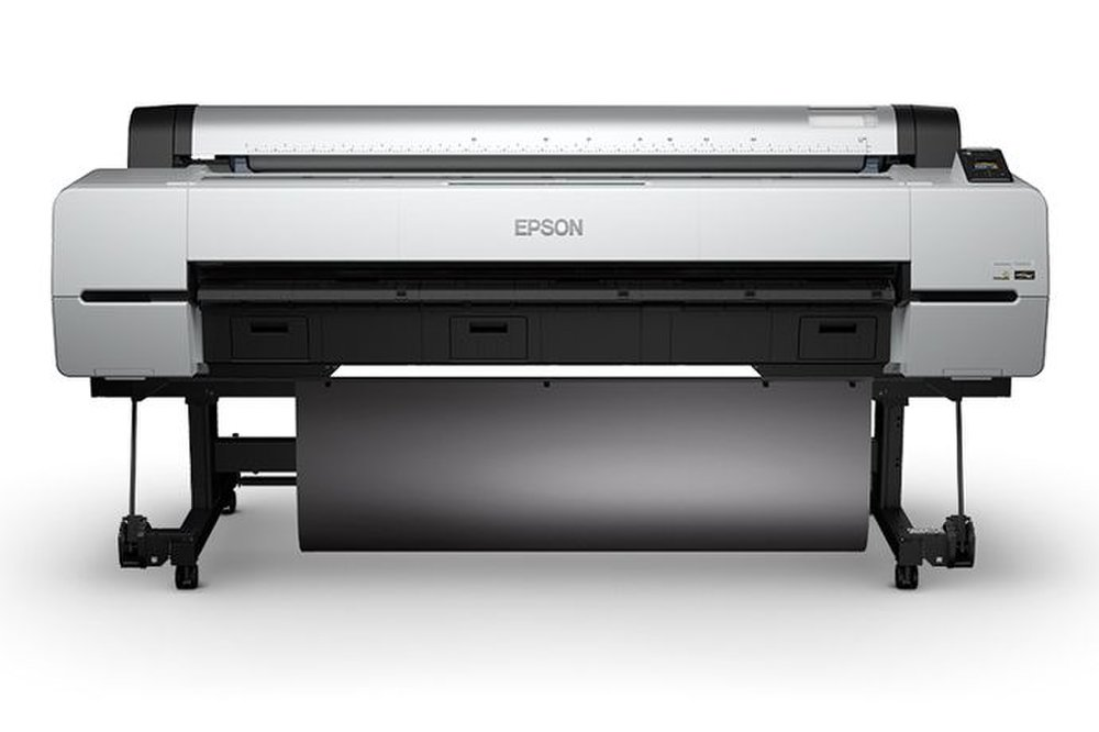The Epson SureColor P20000 has one of the widest roll feeds we've seen, a full 64 inches.
