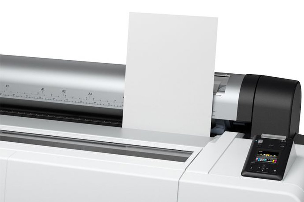 Epson SureColor P20000 image: There's also a manual sheet bypass, which will let you print on even smaller stock.