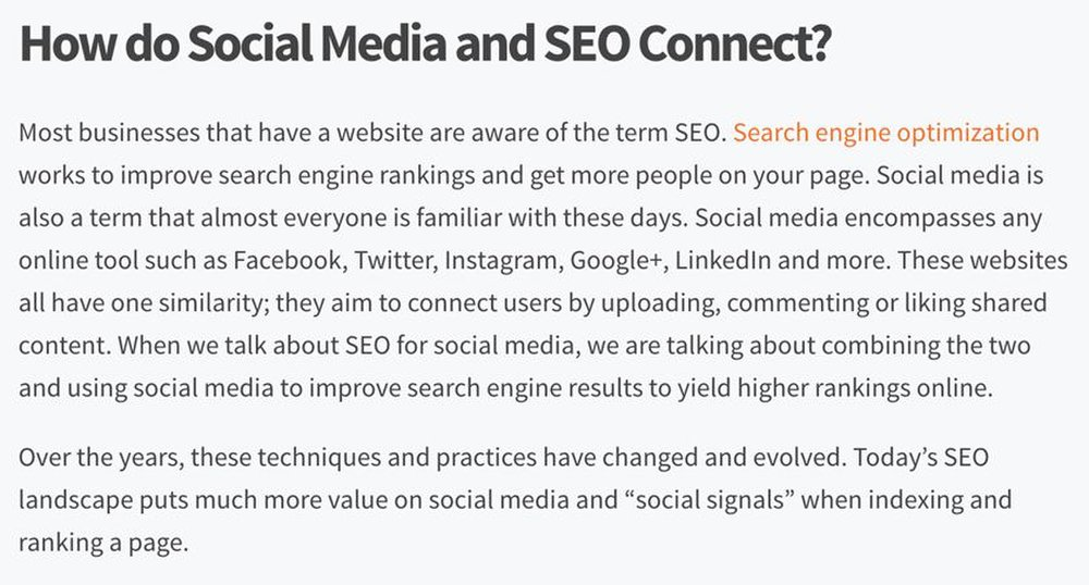 Lead To Conversion image: Social media and your website work together to build SEO for your company.