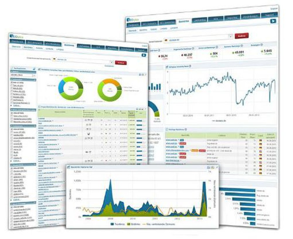 SEOlytics image: This SEO software provides comprehensive reports to help you gauge the success of your online campaigns.