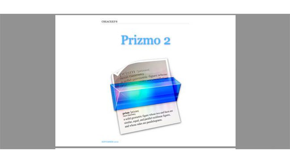 Prizmo image: You can access the PDF user guide as a support resource.
