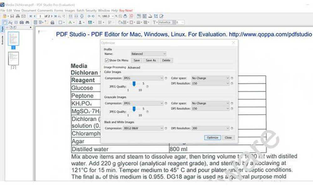 Qoppa PDF Studio Pro image: The batch converter function allows you to drag and drop files for quicker uploading.