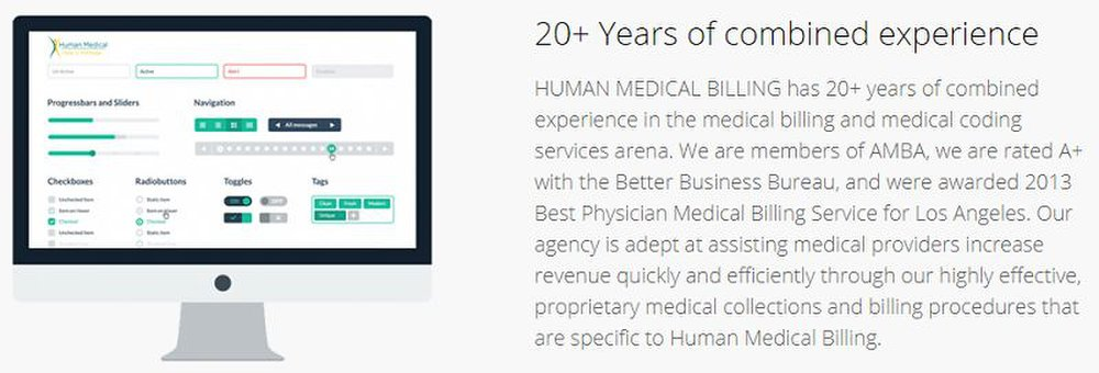 You manually transfer your patients' billing information to Human Medical Billing or through its EHR software, which doubles as a billing interface.