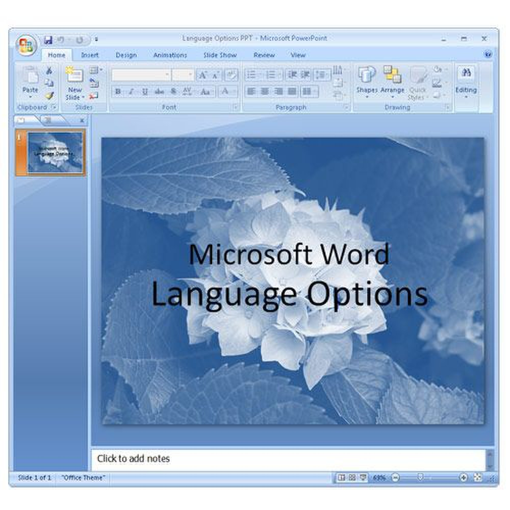 Babylon image: Create a PowerPoint in English and save it for later translation.