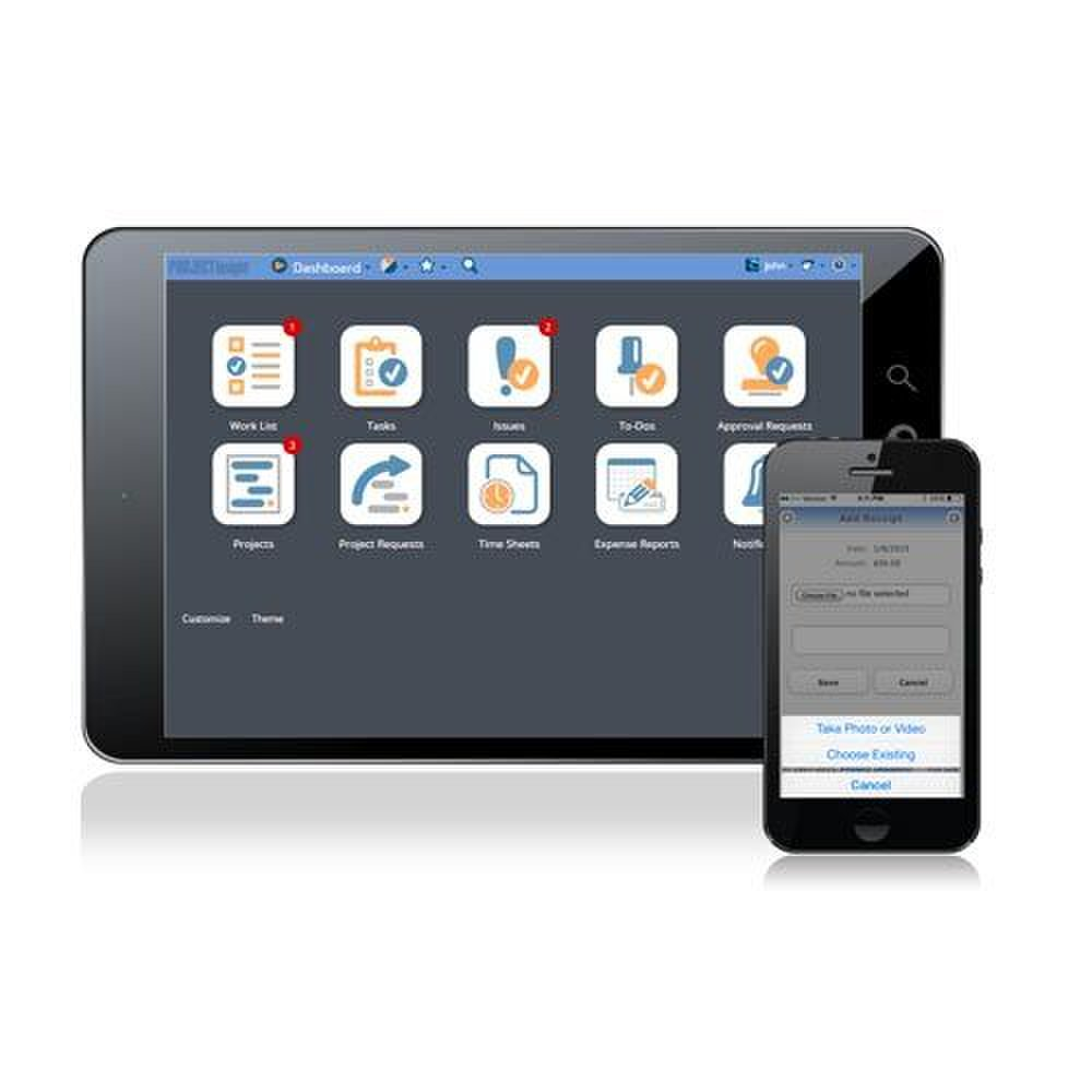 Project Insight image: The app is simple to use, and the large icons are easy to understand.