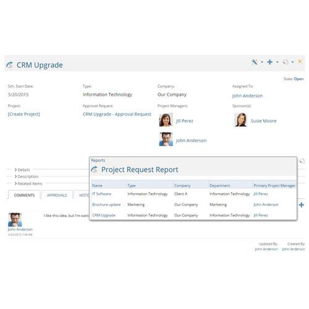 Project Insight image: This project management solution can automatically manage project requests.