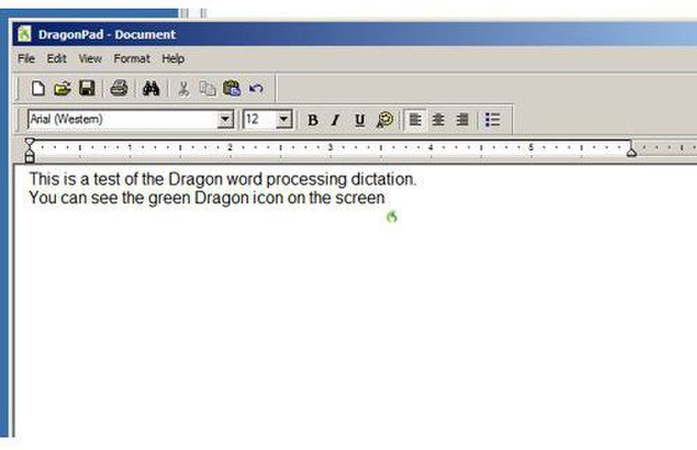 Dragon Premium image: Dragon Pad is often used for dictation, and you can go back and edit the text after the initial dictation.