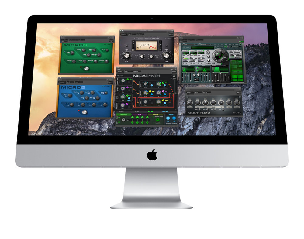 Digital Performer 9 offers more than 90 audio and MIDI effect plug-ins. It also syncs with VST and AU plug-in formats, so you can download and add third-party plug-ins.