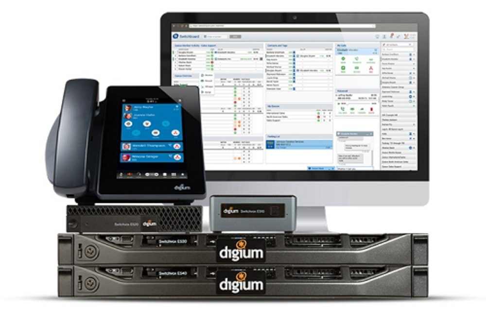 Digium Switchvox is available as either an on-premises or cloud-hosted solution.