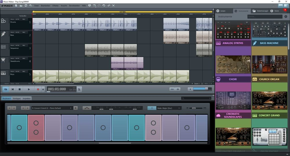 Magix Music Maker Review 2018 | Recording Studio Software