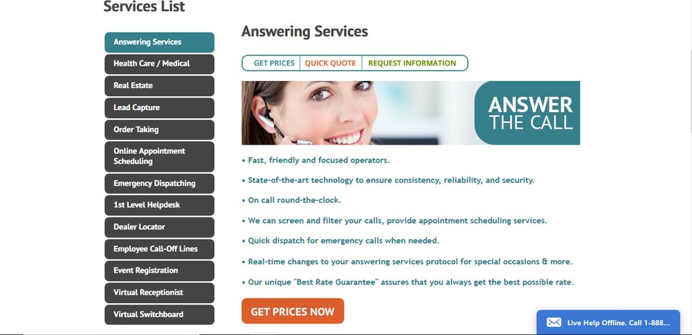 PCMSI's answering service includes customer care, order taking, and appointment setting services.