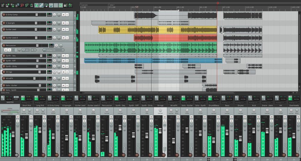 Reaper is a highly compatible digital audio workstation that can read more than 20 different file types and export projects into 15 different file types.