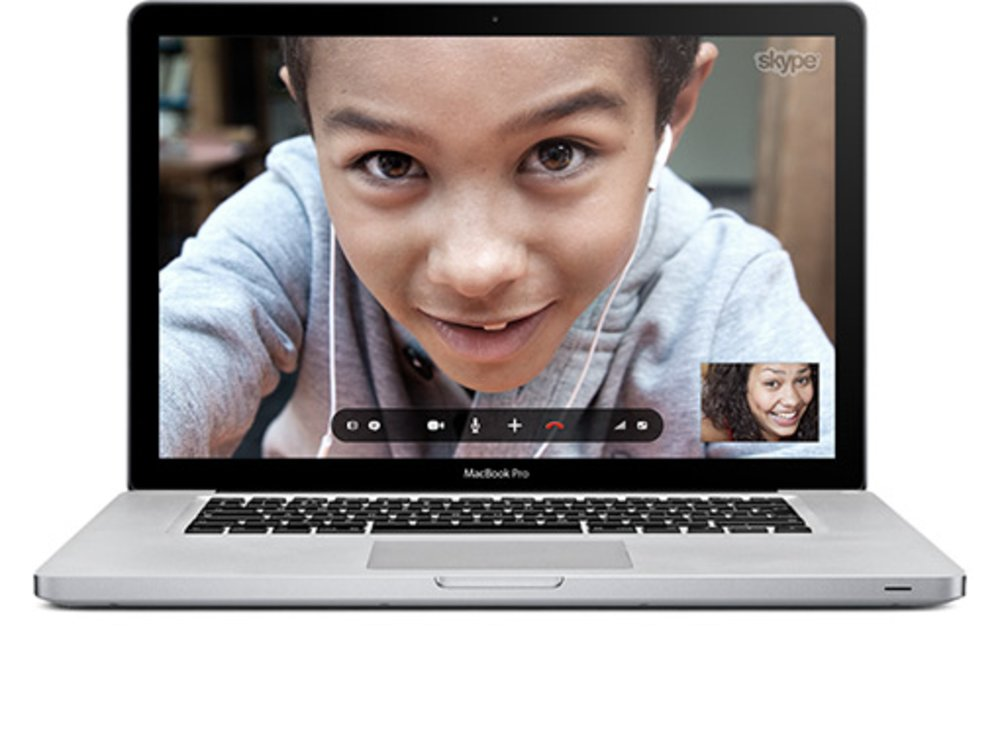 You can make video-to-video Skype calls.