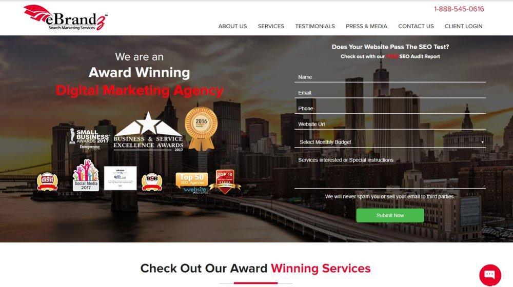 eBrandz offers a free SEO audit report.