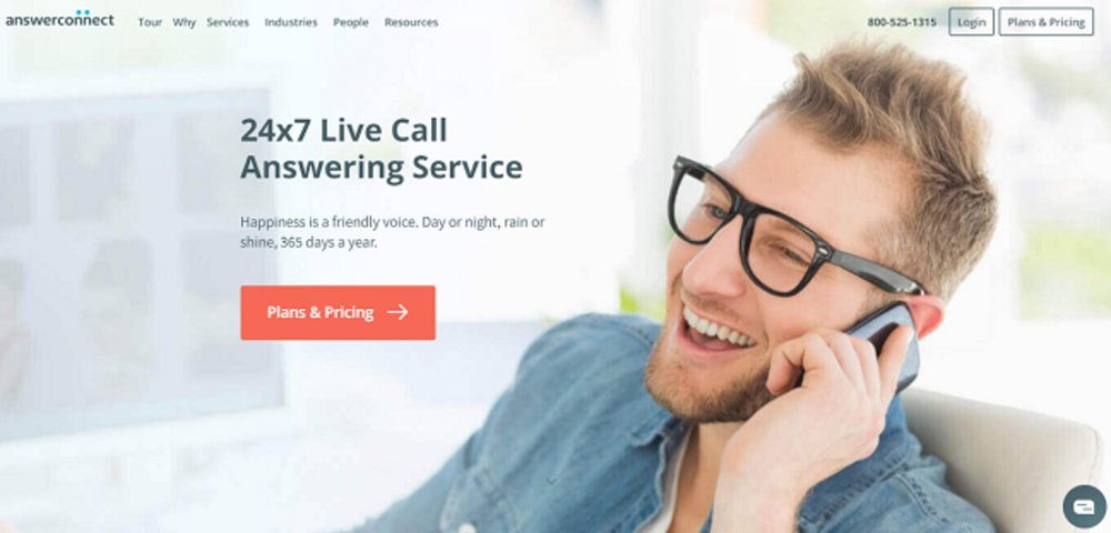 AnswerConnect agents are available 24/7, year-round.